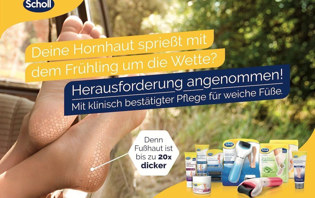 Challenge accepted: Scholls Aufruf für gesunde und schöne Füße
