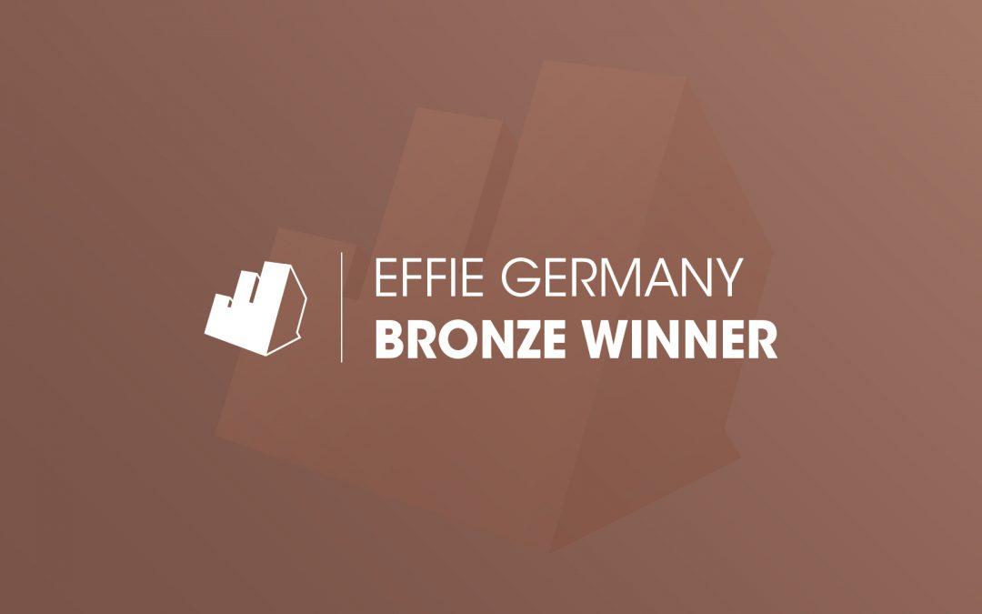 27 Bronze-Gewinner beim Effie Germany 2021